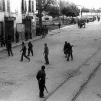 Partigiani entrano in città il 28 aprile 1945