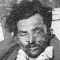 Partigiano rimasto ucciso nella battaglia e sepolto a Cinquecerri.