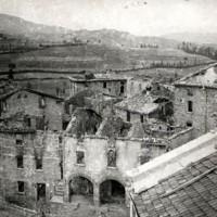 Villa Minozzo in fiamme.