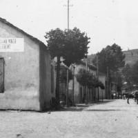 Il centro di Frassinoro negli anni Trenta.