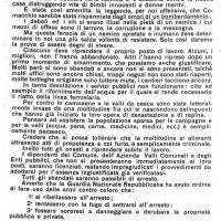 Manifesto pubblico dopo i bombardamenti del 19, 20, 21, 22, 23, 24, 25 luglio 1944. ASC Comacchio