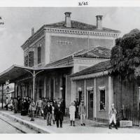 Cesena, Stazione, 1905-1910 circa, (BCM Fondo Dellamore, FDP 1242)