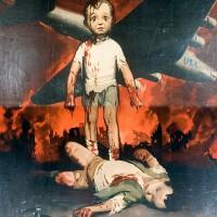 Manifesto di propaganda fascista.