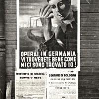 Manifesto per il reclutamento di forza lavoro da inviare in Germania