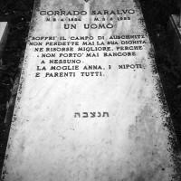 Tomba di Corrado Saralvo a Lugo (RA)