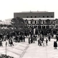 Alfonsine, 10 aprile 1973, inaugurazione del Monumento alla Resistenza.