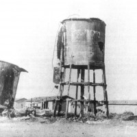 Porto Garibaldi. Acquedotto comunale bombardato. ASDS Ferrara