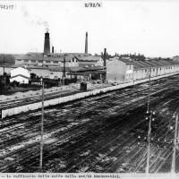 Cesena, la raffineria dello zolfo della società Montecatini, 1926 (BCM Fondo Dellamore, FDP 1446)
