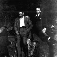 """Mario Vigevani con l'amico Pellegrino Riccardi, riconosciuto """"Giusto delle nazioni"""""""