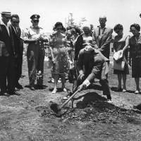 Bellaria, Giorgetti pianta albero (17 giugno 1964).