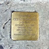 Pietra d'Inciampo di G. Ganassi