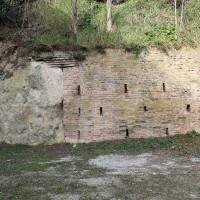 Il muro dove è avvenuta la fucilazione del 4 settembre 1944