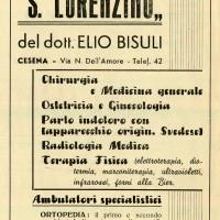 Pubblicità del 1949 della Casa di cura