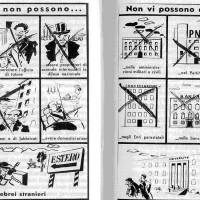 Sintesi dei Provvedimenti di Difesa della Razza del 1938