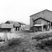 Uno degli avamposti occupati e presidiati dalla 28ª Brigata partigiana Garibaldi (20 gennaio 1945). ASDS Ferrara