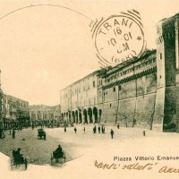 Piazza del Popolo in una cartolina del 1901