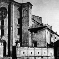 La Chiesa di San Francesco al Prato con il convento adibiti a carcere