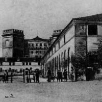 Immagine storica del castello estense.