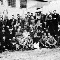 Coop Falegnami. Festa marzo 1947