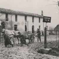 Casa colonica sede del comando partigiano della 28a Brigata Mario Gordini.