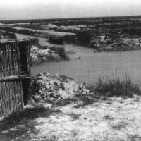 Zona di attività partigiana. Chiavica Scirocca (Capanno di  canne e fango, ricovero di partigiani, ASDS Ferrara)