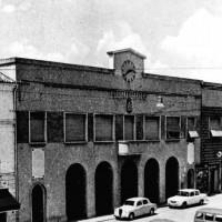 Palazzo Comunale di Codigoro: a sinistra l'ingresso delle carceri dette le Fasanare.
