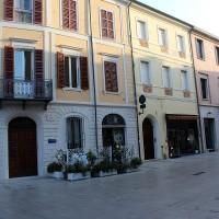 Via carbonari oggi. Uno dei luoghi di Cesena nel quale abitò Corrado Saralvo
