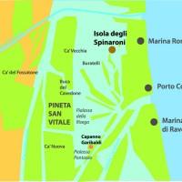 Mappa dell'Isola degli Spinaroni.