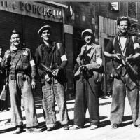Partigiani in Via Emilia.