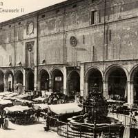 Cesena, Piazza Vittorio Emanuele II, 1895-1905 circa (BCM Fondo Dellamore, FDP 1047)