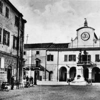 Piazza Municipale di Codigoro.