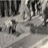 Un partigiano ucciso nei combattimenti del 22 aprile 1945.