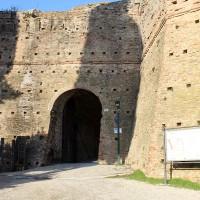 L'ingresso alla Rocca oggi