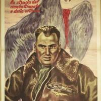 Manifesto della RSI di propaganda della Legione autonoma Ettore Muti