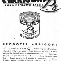 Manifesto pubblicitario dei prodotti Arrigoni (ANPI-Cesena)