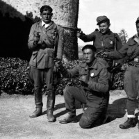 """Disertori della Wehrmacht entrati nella brigata del """"Valoroso"""" (Lino Vescovi)"""