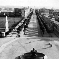 Il Viale visto dalla stazione ferroviaria