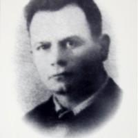 Ritratto di Adelmo Dalmari nella composizione fotografica dedicata ai caduti partigiani di Soliera.