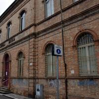 Facciata della sede dell'arruolamento partigiano