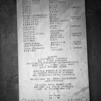 Lapide nel cimitero ebraico di Lugo (RA)