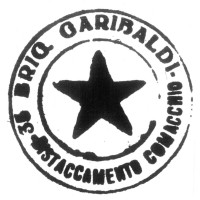 Timbro della 35ª Brigata Garibaldi distaccamento di Comacchio