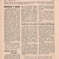 """""""Audacia"""", organo della brigata gappista """"Walter Tabacchi"""" di modena."""
