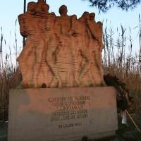 Monumento commemorativo dell'eccidio.