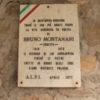 Targa in ricordo diBruno Montanari, Cà Marastoni