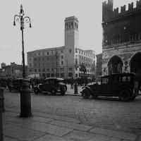 Palazzo Gotico e Palazzo INA in Piazza Cavalli