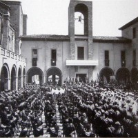 """Raduno a """"Casa Littoria"""" (anni '40)"""