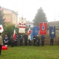 Commemorazione della battaglia partigiana di Gonzaga.