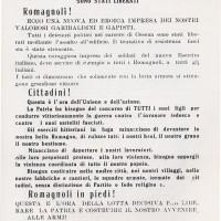 Il volantino del PCd'I del giugno '44, che inneggia all'azione gappista