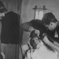 Una infermeria partigiana.