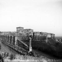 Cesena, Rocca Malatestiana, 1910-1915 circa (BCM Fondo Lelli Mami, FCP 476)